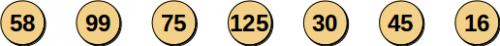 Поиск в массиве: каждое сравнение - отбрасываем 1 элемент. Число сравнений – N.