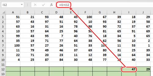 электронные таблицы excel  в 18 задании егэ