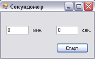 c++ работа с элементом timer