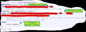 проверка данных формы javascript