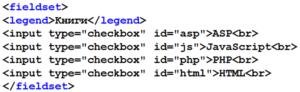 рамка для элементов html