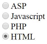 radio кнопка html