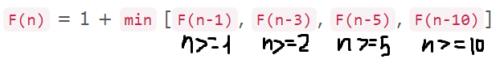 Формула для целевой функции